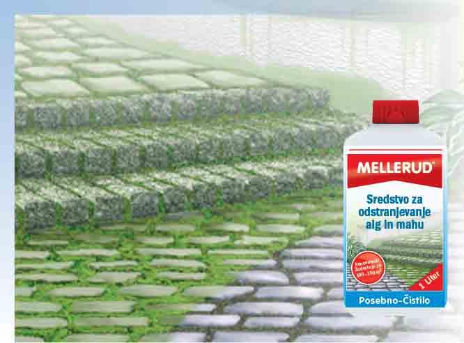 Sredstvo za odstranjevanje alg